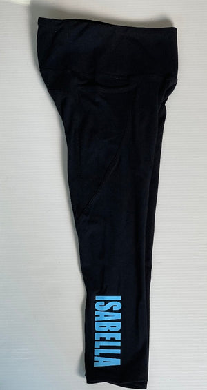 Personalised Active Ankle Biter Leggings