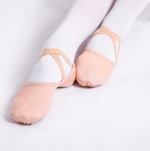 4 Way Stretch Canvas Ballet Shoes