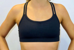 Active Crossback Crop Top
