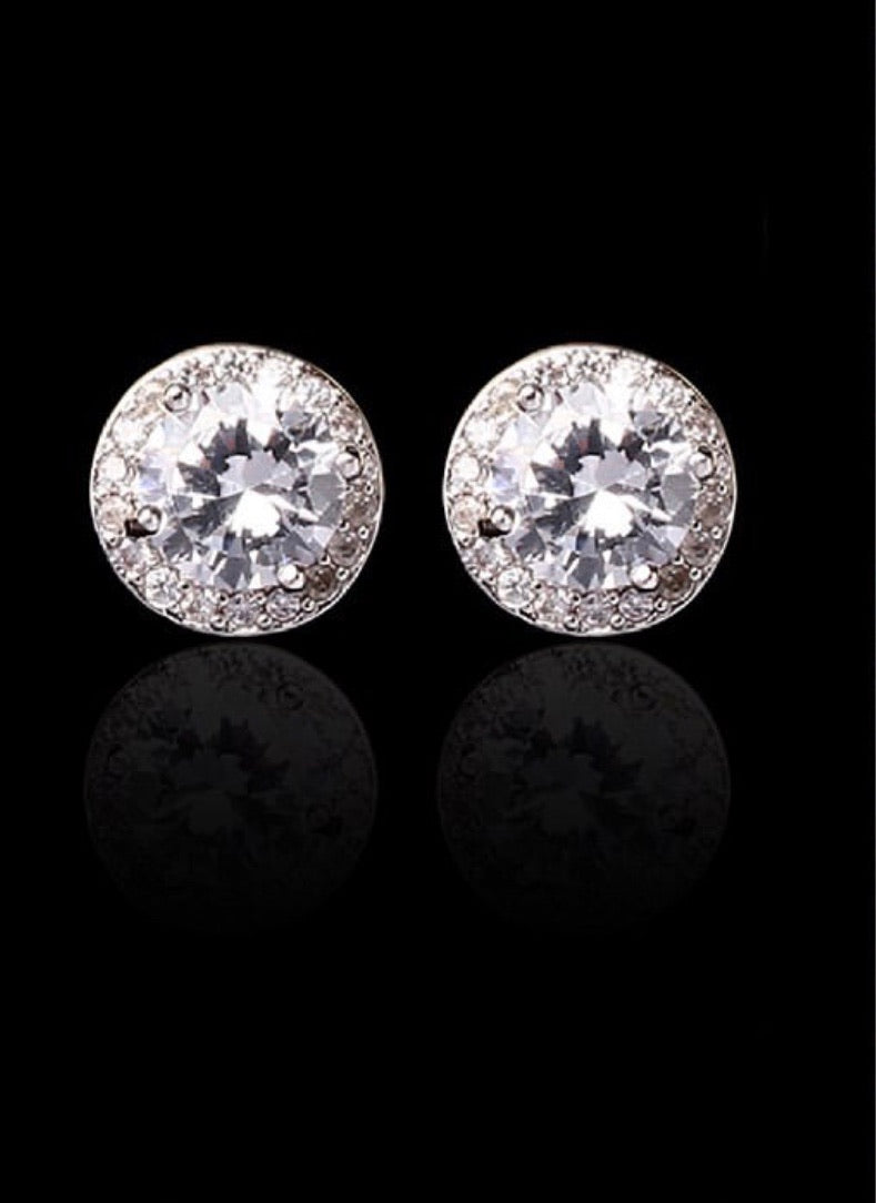 Aidangus Zirconia Stud Performance Earring
