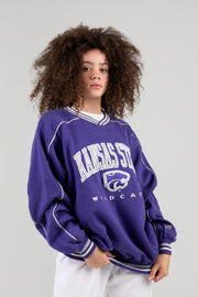 Vintage Kansas State Purple Crewneck
