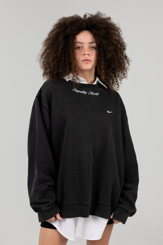 Vintage Empathy Always Black Nike Crewneck