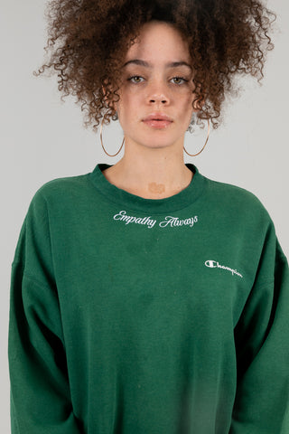 Vintage Empathy Always Green Crewneck