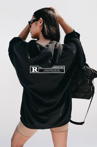 'Rated R' Oversized Hoodie