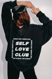 'Self Love Club' Members Only Hoodie