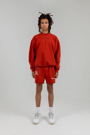 ANSWERS MAY VARY RED CREWNECK