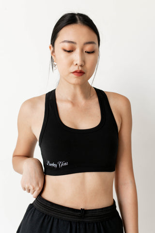 """Lucky You"" Sports Bra"