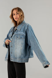 Vintage Empathy Always Denim Jacket