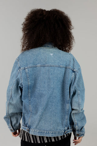 Vintage Just Be Fucking Kind Denim Jacket