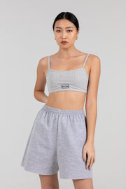'Now is Now' Grey Bralette