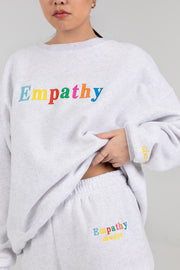 EMPATHY ALWAYS Crewneck