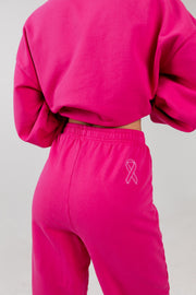 Girls Can Do Anything Pink Sweatpants