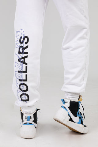It Costs $0 White Sweatpants