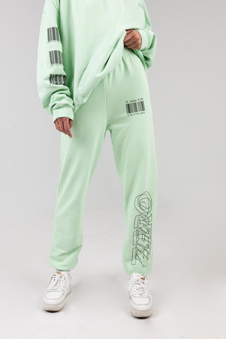 IT COSTS $0 TO BE A NICE PERSON Seafoam Sweatpants