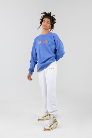 'Empathy, Always' Royal Blue Crewneck
