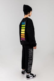 Nostalgia Black Sweatpants
