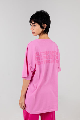 Girls Can Do Anything Pink Tee