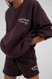 Mayfair Athletics Brown Crewneck