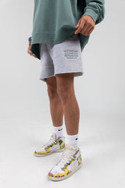 Self Love Club Members Only Grey/Green Shorts