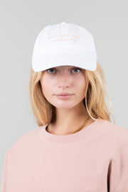 Self Love Club Members only White/Pink Hat