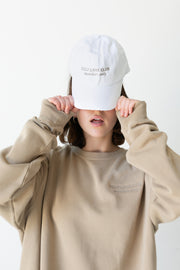Self Love Club Members only White/Tan Hat