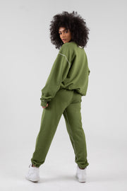MAYFAIR PSA OLIVE SWEATPANTS