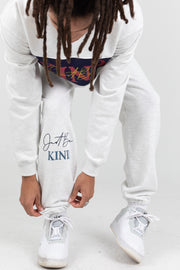 JUST BE KIND GREY SWEATPANTS