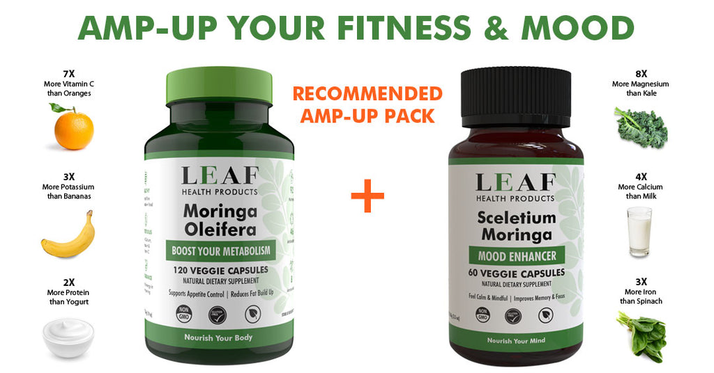 Amp-Up Your Fitness & Mood with LEAF Moringa