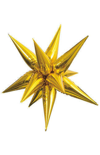 Gold Foil Starburst Large