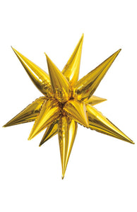 Gold Foil Starburst Small