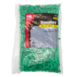 Gardner Bender 13-095 GreenGard, Green, #95; 500/Bag