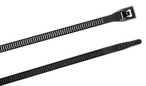 "Gardner Bender 46-310UVBM Cable tie, 11"", 75lb, Black; 1,000/bag"