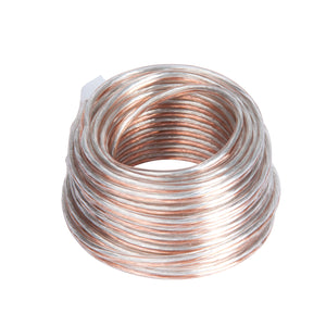 Calterm 50224 Speaker Wire #24/2 AWG 20ft 6.0M