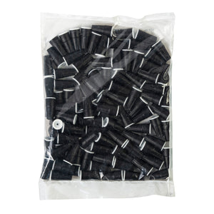 King Innovation 61145 Dryconn Waterproof Wire Connectors, Black/White; 100/Bag