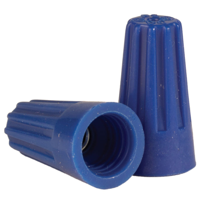 King Innovation 67021 Contractor's Choice Nut Wire Connector, Blue; 1,000/Bag