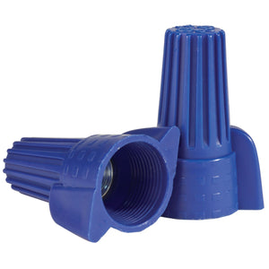 King Innovation 67115 Contractor's Choice Wing Wire Connector, Blue; 50/Box