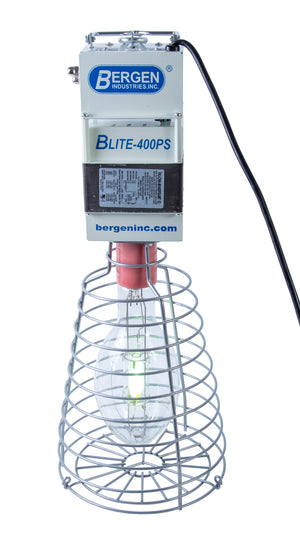 Bergen Industries BLITE400PS Temp Light 400w HID, Quad Tap, Factory 120V