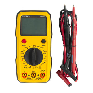Sperry Instruments DM6410 Digital Multimeter, 8 Function, Manual Ranging