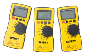 Sperry Instruments DM6800 Digital Multimeter, Thin, Autorange