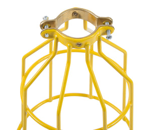 Bergen Industries GL50MC123MPC Temp Light String,12/3, 50ft, 15A Male & Female, Metal Cage