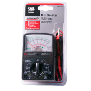 Gardner Bender GMT-312 5 Function Analog Multimeter