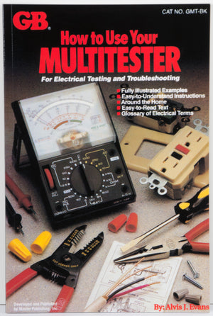 Gardner Bender GMT-BK How To Use Your Multitester book