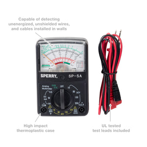 Sperry Instruments HSP5 12 Range Analog Multi-Tester