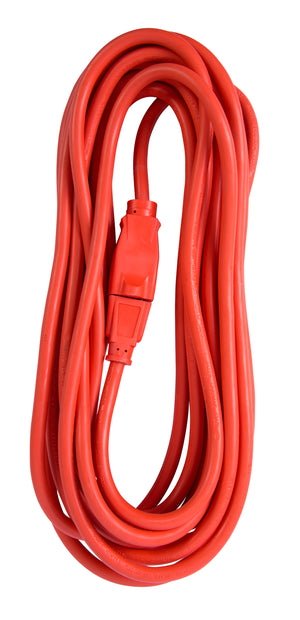 Bergen Industries OC25163 Extension Cord 25ft  SJTW Orange 16/3