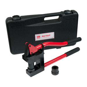 "Gardner Bender SP-7 Stud Punch with spring release, 1-11/32"" & 7/8"" punch, with carrying case"