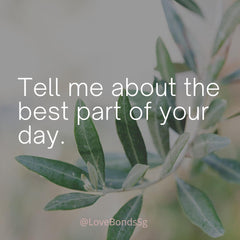 Tell me about the best part of your day