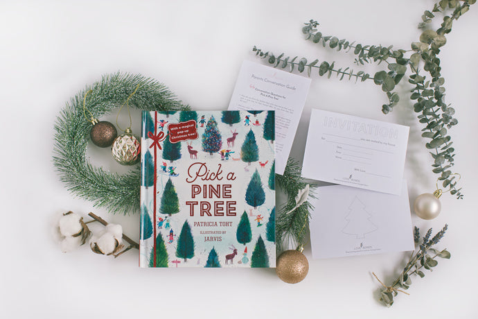 [Below $30] Pick a Pine Tree Christmas book & Conversation Guide