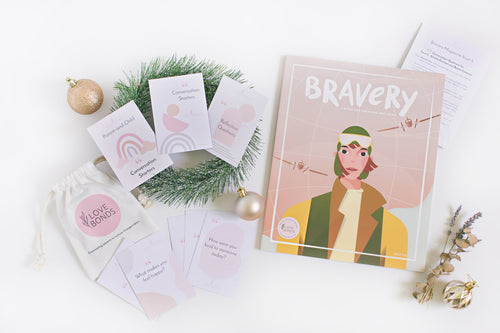 [Below $50] Any Bravery Magazine Issue & Conversation Guide + Parent-and-Child Conversation Starters