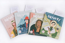 Load image into Gallery viewer, 4 Bravery Magazines Bundle (Issues 5, 6, 8 & 9) + Conversation Guides