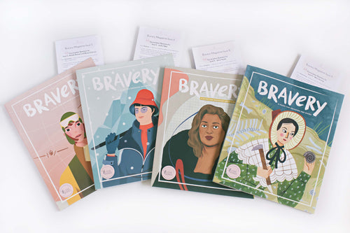 4 Bravery Magazines Bundle (Issues 5, 6, 8 & 9) + Conversation Guides